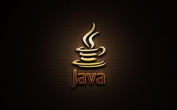 download wallpapers java glitter logo programming