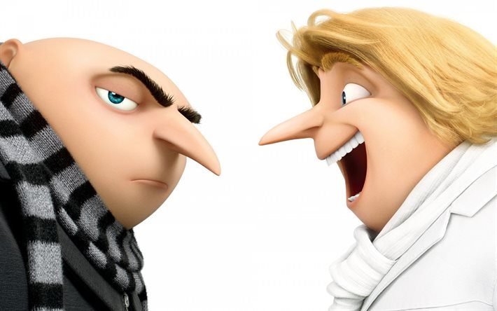 Despicable Me 3, 2017, Gru, brothers, Dru