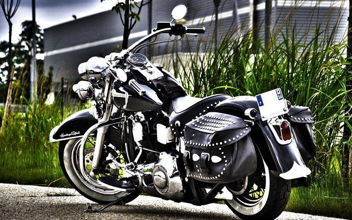 Download Wallpapers Harley-Davidson Heritage Softail