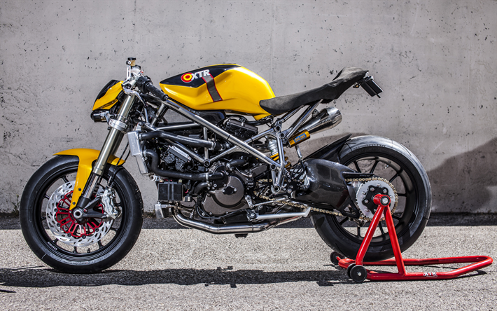 Ducati 848 Custom Street Fighter 4k Tuning 2018 Bikes XTR Pepo