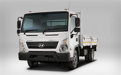 Hyundai Mighty EX8, 4k, 2018 truck, commercial vehicle, cargo transport, Mighty EX8, Hyundai