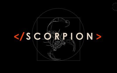 Scorpion, 4k, TV series, 2017 movie, logo