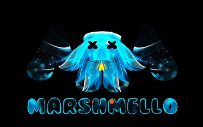 Download Wallpapers Marshmello Creative Logo Dj Art For Desktop