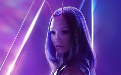Mantis, 2018 movie, superheroes, Avengers Infinity War, Pom Klementieff