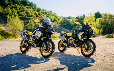 BMW R 1250 GS, BMW R 1250 G, HDR, 2021 bikes, superbikes, german motorcycles, BMW