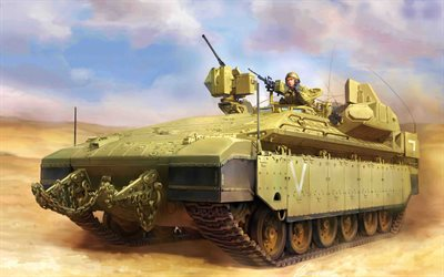 Namer, Israeli armoured personnel carrier, IDF, IFV, Israel Defense Forces, Israeli combat vehicles