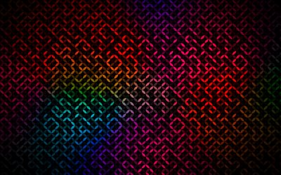 thread joints patterns, 4k, creative, colorful abstract background, abstract thread patterns, interweaving patterns, interweaving textures