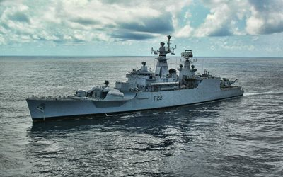 INS Ganga, F22, Indian Navy, Indian guided-missile frigate, Godavari-class, Indian warships