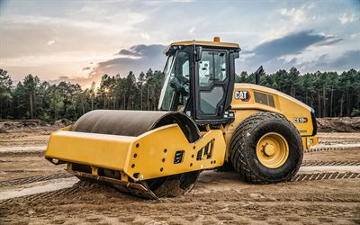 Caterpillar CS10 GC, vibratory soil compactors, 2021 compactors, construction machinery, special equipment, road scraper, construction equipment, CaT CS10 GC, Caterpillar, CaT