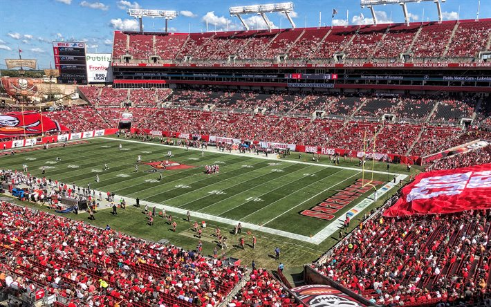 download wallpapers raymond james stadium ray jay tampa bay buccaneers stadium nfl tampa bay buccaneers south florida bulls tampa florida usa american football for desktop free pictures for desktop free download wallpapers raymond james