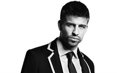 Gerard Pique, Spanish football player, photoshoot, portrait, FC Barcelona, Catalonia, Spain