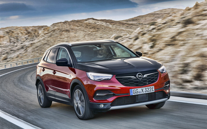 2019 Opel Grandland X Hybrid4 Release Date >> Download Wallpapers Opel Grandland X Hybrid4 4k Road 2019