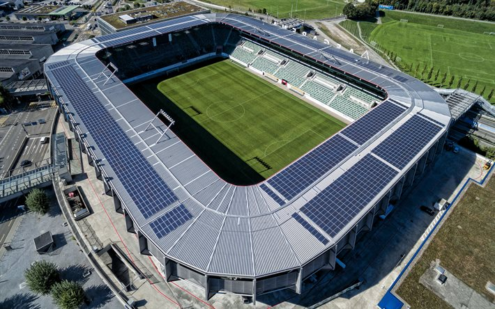 L'AFG Arena, Kybunpark, le FC St-Gall Stade, le FC St-Gall, stade de football, Suisse