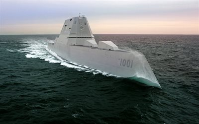 DDG-1000 Zumwalt, Zumwalt class, guide missile destroyer, United States Navy, multi-mission stealth ship, DDG-1000, American warships, USA