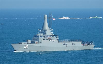 RSS Sovereignty 16, Fearless-class patrol vessel, Republic of Singapore Navy, RSN, warship, frigate