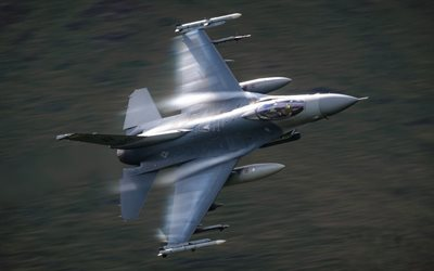 f-16c, general dynamics f-16 fighting falcon, american fighter, der us navy, united states, military aircraft