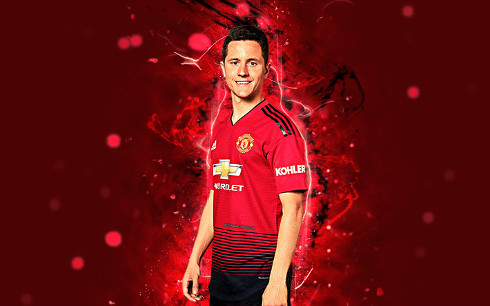 Download Wallpapers Ander Herrera 4k Season 2018 2019
