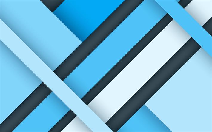 Descargar Fondos De Pantalla Azul Abstracción, Diseño De