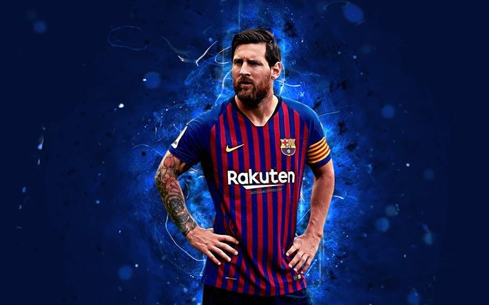 تحميل خلفيات ليونيل ميسي 4k الأرجنتيني 2018 برشلونة Fc الدوري