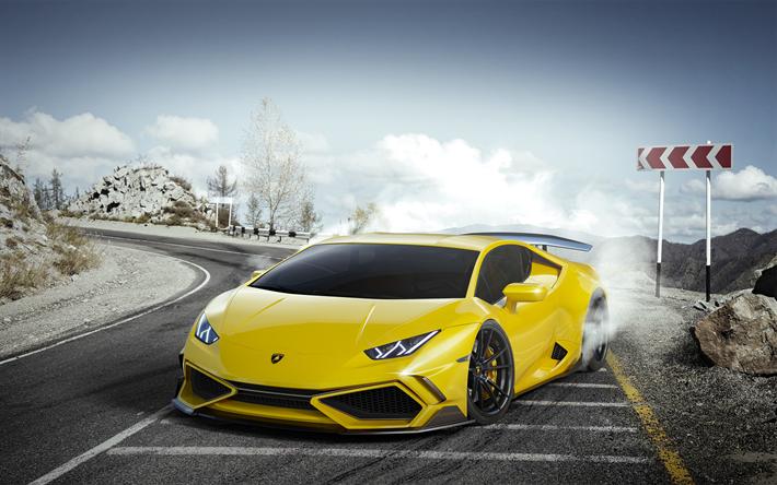 Télécharger fonds d'écran 4k, Lamborghini Huracan, la ...