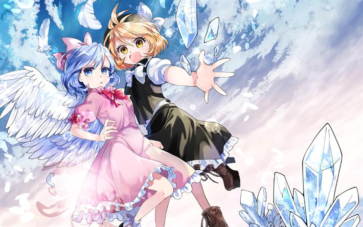 Download Wallpapers Mai Yuki Manga Artwork Touhou For