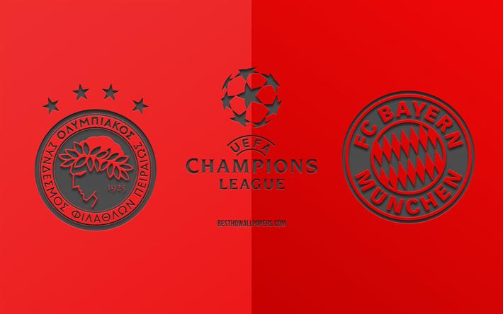 Herunterladen Hintergrundbild Olympiacos Vs Bayern Munchen