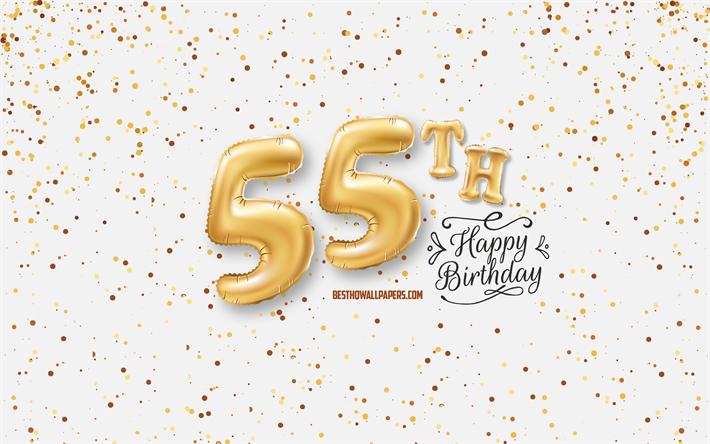 Telecharger Fonds D Ecran 55e Joyeux Anniversaire 3d Ballons Lettres Anniversaire D Arriere Plan Avec Des Ballons 55 Ans Anniversaire Joyeux 55eme Anniversaire Fond Blanc Joyeux Anniversaire Carte De Voeux Joyeux 55 Ans Anniversaire Pour