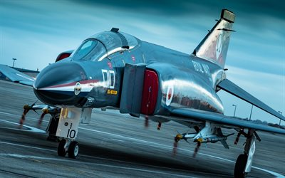 McDonnell Douglas F-4 Phantom II, fighter-bomber, Royal Navy, british army, McDonnell Douglas