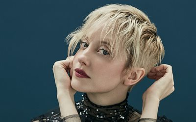 Andrea Riseborough, portrait, 2019, british celebrity, beauty, british actress, Andrea Louise Riseborough, Hollywood, Andrea Riseborough photoshoot