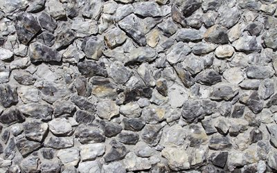 gray stones, 4k, gray stone texture, pebbles backgrounds, gravel textures, pebbles textures, stone backgrounds, gray pebbles, gray backgrounds, pebbles, gray pebbles texture