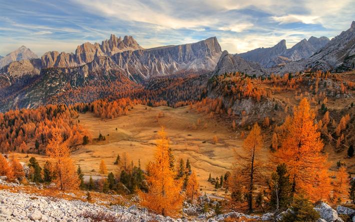 Scarica Sfondi Dolomiti 4k Autunno Montagna Italia Europa Per