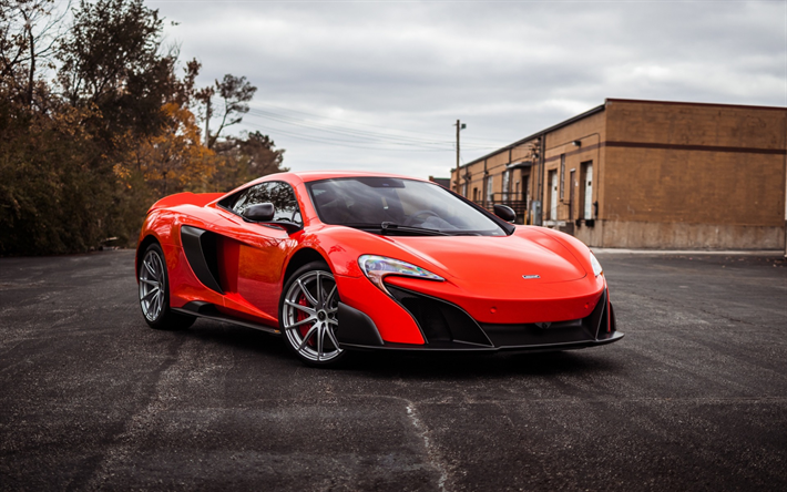 thumb2 mclaren 675lt 2017 orange supercar racing coupe orange 675lt