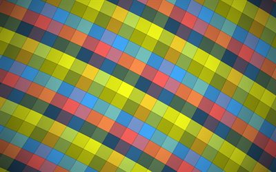 mosaic, squares, creative, material design, abstract material