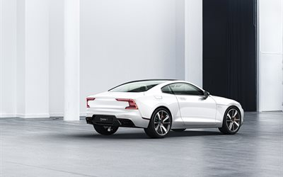 2020 Polestar P1, Volvo S90 Coupe, 2017, back view, sports coupe, new cars, Swedish cars, Volvo