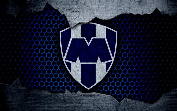 Descargar fondos de pantalla Monterrey, 4k, logo, Liga MX, fútbol, Primera División, club de ...
