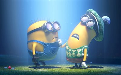 Minions, underwater, Despicable Me, 3d-animation