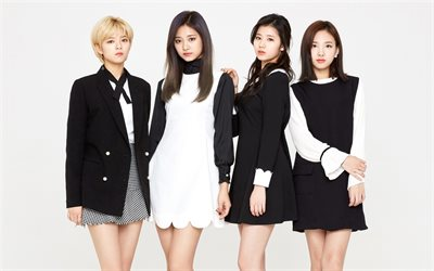 Twice, South Korean music group, South Korean singers, Nayeon, Sana, Tzuyu, Jungyeon