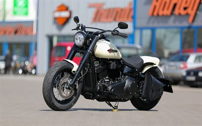 Harley-Davidson, Thunderbike Flying Slim, motorcycle tuning, american motorcycles