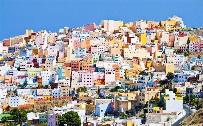 Download Wallpapers Las Palmas De Gran Canaria 4k Summer