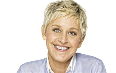 Ellen DeGeneres, American actress, portrait, photoshoot, TV presenter, american star, The Ellen DeGeneres Show