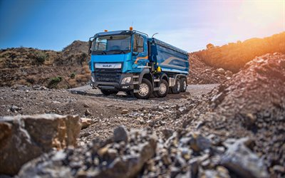 DAF CF 480, 4k, career, 2019 trucks, cargo transport, 2019 DAF CF, LKW, DAF, HDR