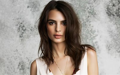 Emily Ratajkowski, 2020, 4k, american celebrity, Hollywood, superstars, movie stars, american actress, portait, Emily Ratajkowski photoshoot, beauty