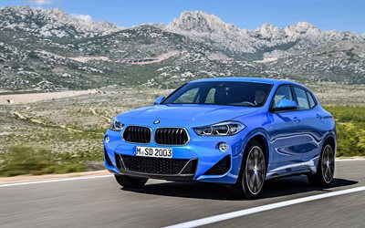 4k, BMW X2, sDrive20i, 2018 cars, M Sport, new X2, crossovers, BMW