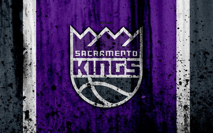 4k Sacramento Kings Grunge NBA Basketball Club Western Conference USA