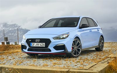 Hyundai i30 N, tuning, 2018 cars, new i30, hatchbacks, korean cars, Hyundai