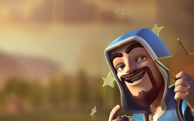 Wizard, art, characters, Clash Of Clans