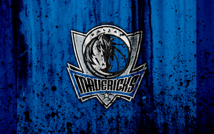 4k Dallas Mavericks Grunge NBA Basketball Club Western Conference USA