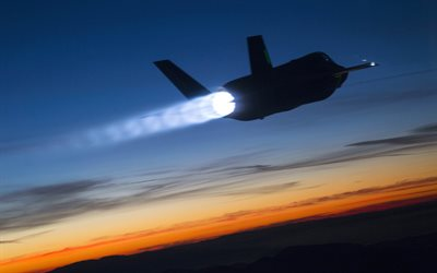Lockheed Martin F-35 Lightning II, combat aircraft, fighter, US Air Force, F-35, Lockheed