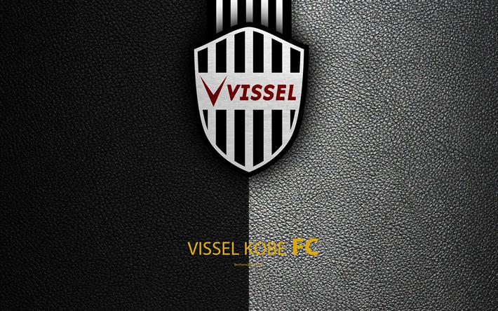 Skachat Oboi Vissel Kobe Fc 4k Logo Leather Texture Japanese