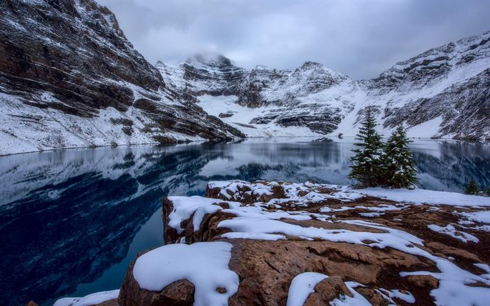 Scarica sfondi lago di mcarthur inverno montagna lago for Sfondi desktop inverno montagna